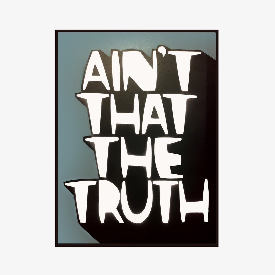 Kid Acne - Ain't That The Truth (framed) - Kultmarket