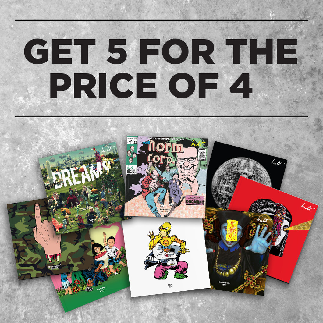 Kult Magazine Bundle Deal - Get 5 for the price of 4 - Kultmarket
