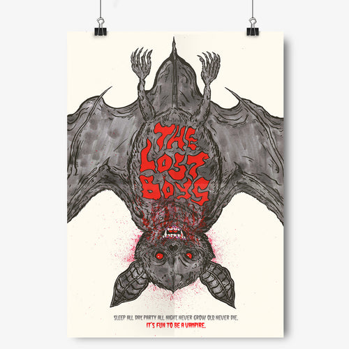 The Lost Boys - A-Z Film Posters - Kultmarket