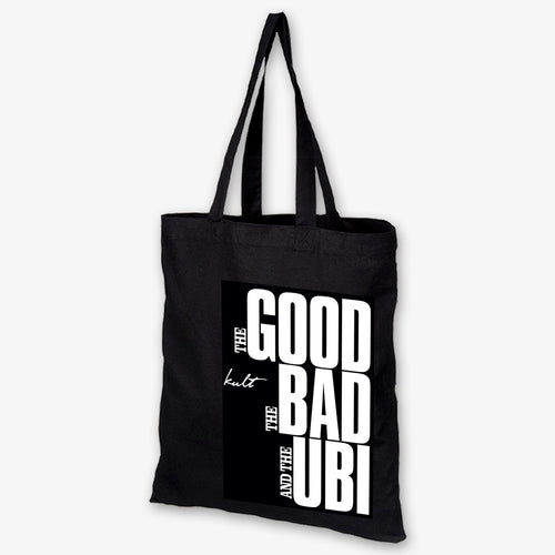 The Good, The Bad, The Ubi - Sin City Tote Bag - Kultmarket