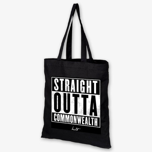 Straight Outta Commonwealth - Sin City Tote Bag - Kultmarket
