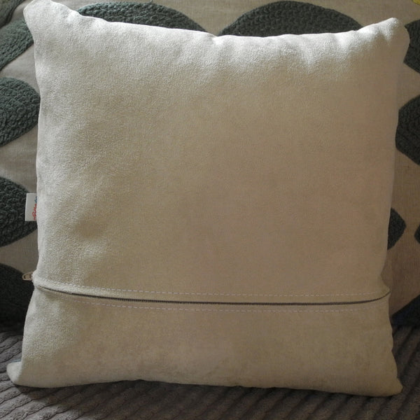 Back of Hounds of Love square cushion