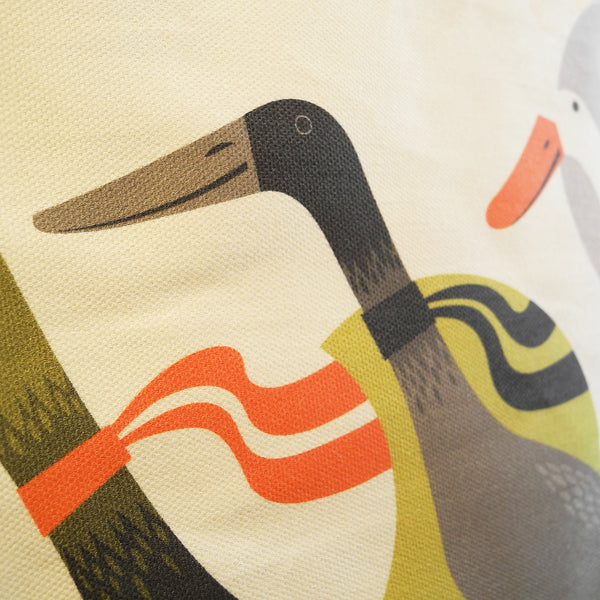 Close up of a Three Ducks from Derbyshire tote bag