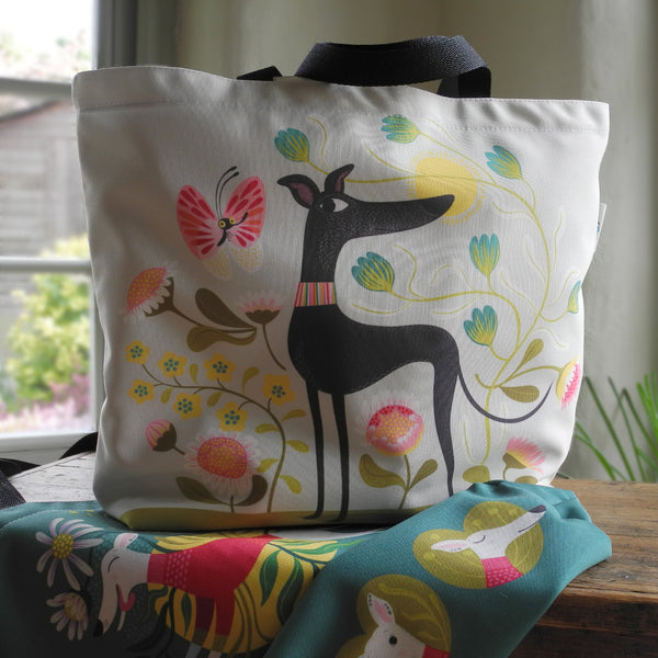 Freddie the Tripod tote bag by Rollerdog - front view