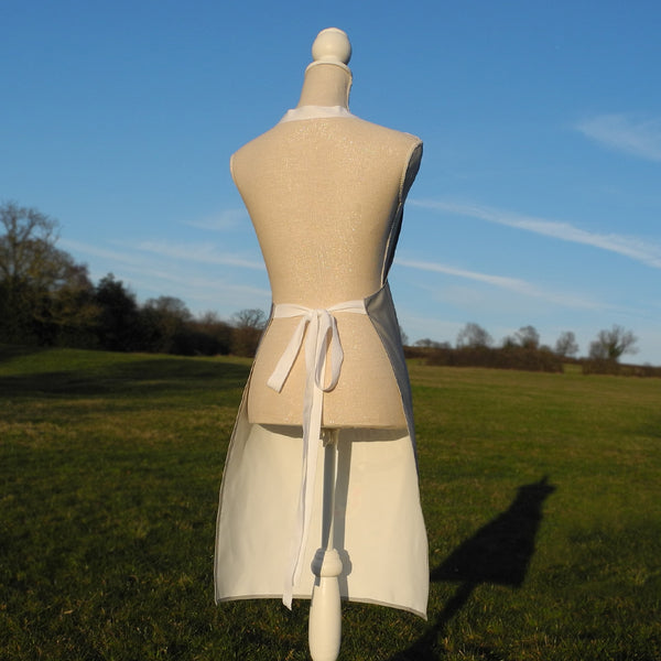 Graceful Greyhounds apron back view