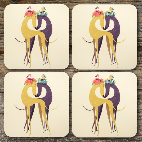 Hounds of Love coasters