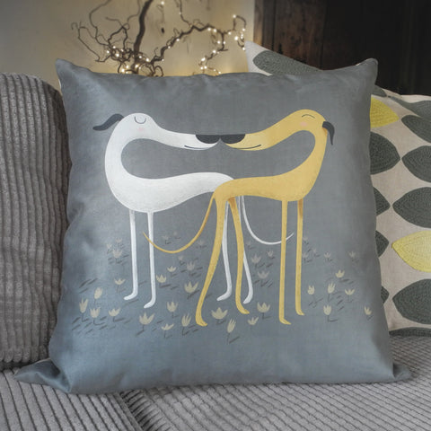 Hounds of Love Cushion, Large Square: £11 OFF