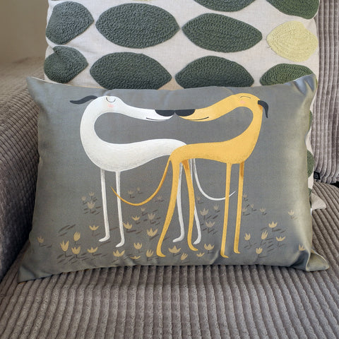 Wide Hounds of Love cushion