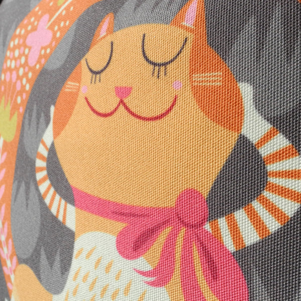 Close up of Lady Marmalade tote bag