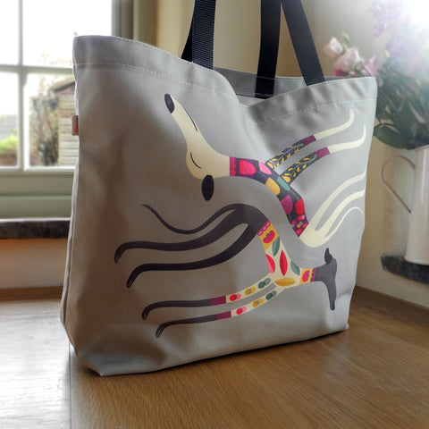 Sleepy Sighthounds Tote Bag