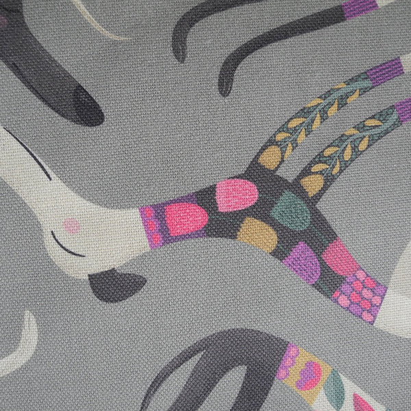 Close up of the Sleepy Sighthounds tea towel