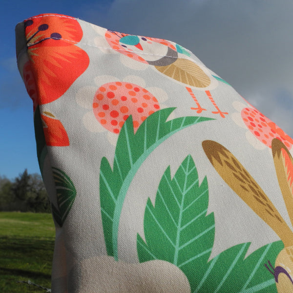 Close up of Willow and Hare Tote Bag by Rollerdog