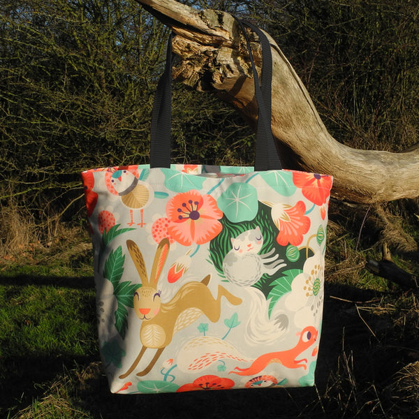 Willow and Hare Tote Bag by Rollerdog
