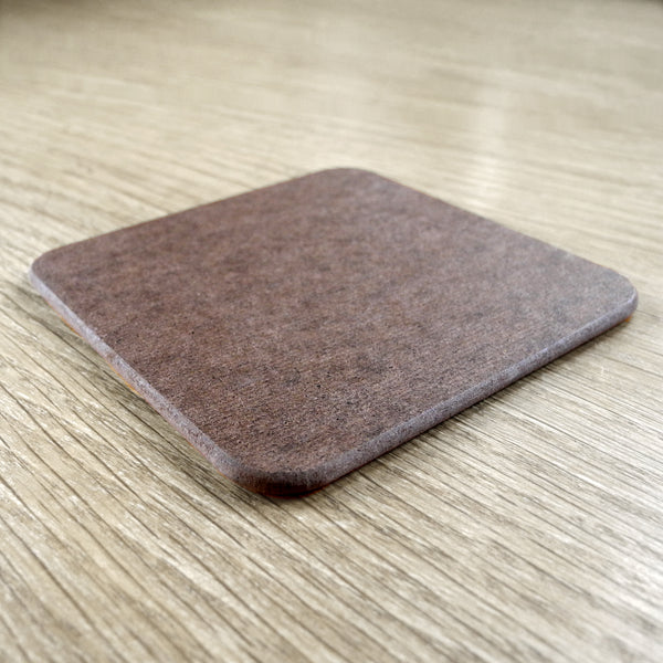 The back of a square Rollerdog coaster