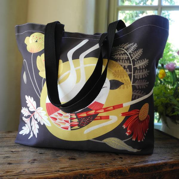 Poppy the Greyhound Tote Bag