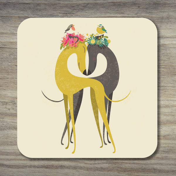 A Hounds of Love coaster by Rollerdog