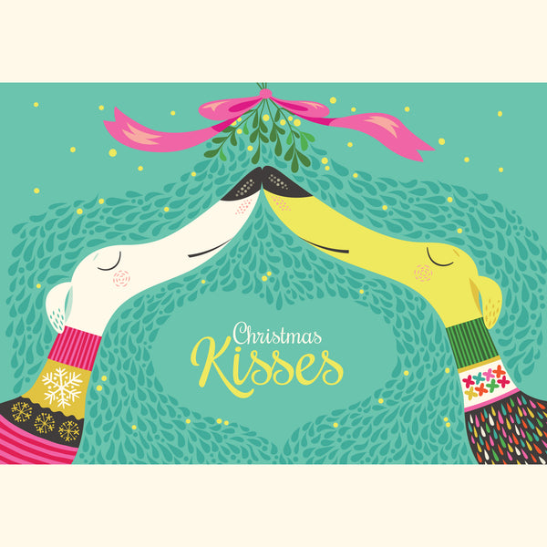 Christmas Kisses design by Rollerdog