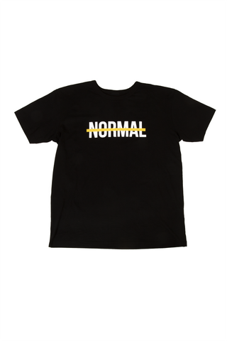 """NORMAL"" T-SHIRT BLACK"