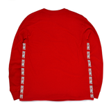 Red D2 Long Sleeve T-shirt