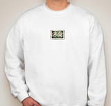 White Camo Box Sweatshirt
