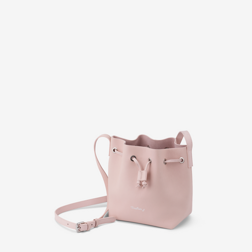 Light Pink Mini Bucket Bag