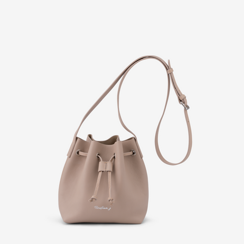 Latte Mini Bucket Bag