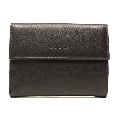 GUCCI Women's Dollar Calf Bamboo Leather - Dark Brown