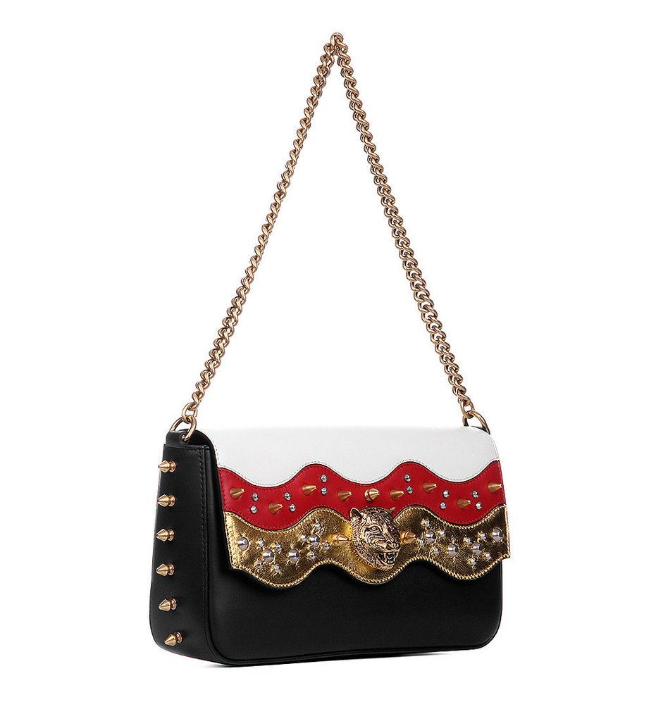 Gucci Broadway Spiked Chain Shoulder Bag