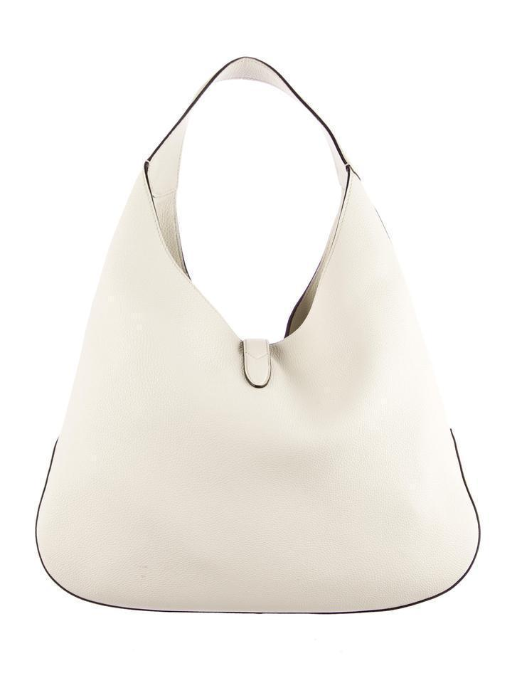 Gucci Jackie Soft Leather Large (off White) Hobo Bag