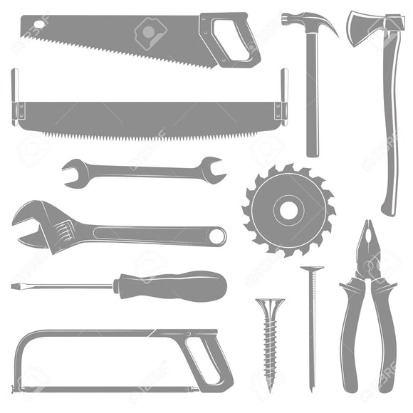 TOOLS, ACCESSORIES, WORK WEAR & PPE