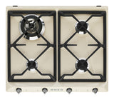 Smeg Victoria 4 Gas Burners Hob