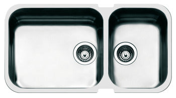Smeg Alba Sink Double Bowl