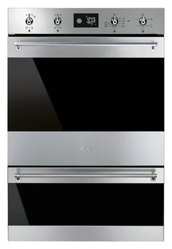 Smeg Classic Mulitfunction w/ Pyrolitic Cleaning Double Oven