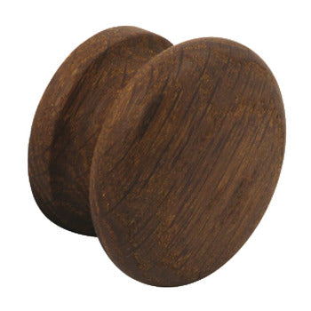 Furniture knob, Oak, Ø 45-55 mm, Shaker