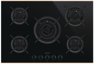 Smeg Dolce Stil Novo Five Gas Burner Hob 750mm