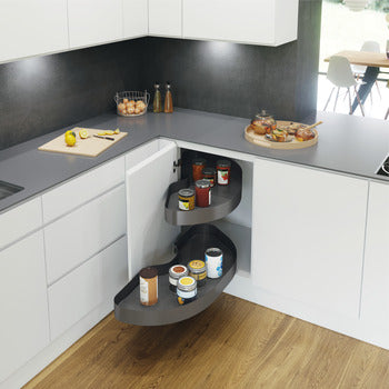Vauth-Sagel Cornerstone Maxx Pull Out Shelving (Right Hand Shown In Image)