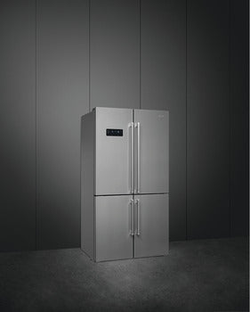 Smeg LCD Touch Display American Style Freestanding Fridge-Freezer