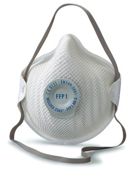Dust Mask, Disposable, Fine-Dust, with Valve