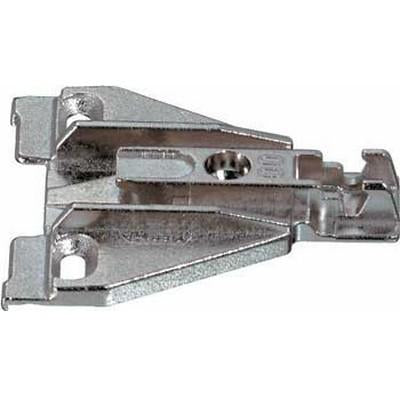 Face frame mounting plate, for click on system