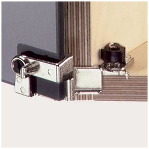 210° glass door hinge, for overlay doors