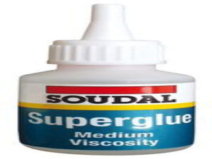 Superglue High Strength Adhesive, General Purpose, Bottle 20 g