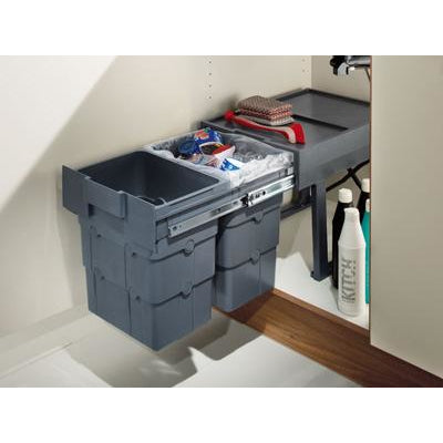 WasteBoy pull-out waste bin, 2x 16 litres