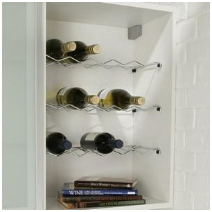 Wine rack single shelf