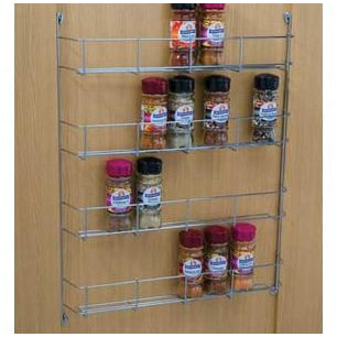 Spice and packet rack, four tier