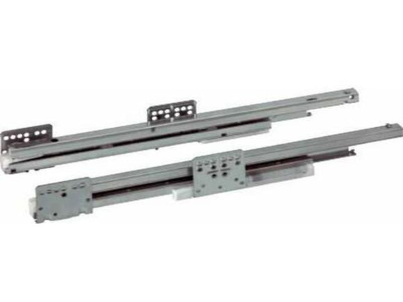 Concealed Undermounted Soft-close Drawer Runners, Full Extension, 40 kg,