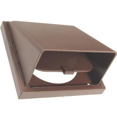 Cowled wall vent, systems 4-6