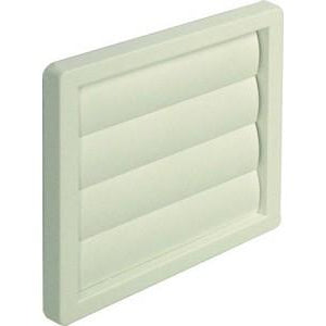 Gravity flap wall grille, system 5