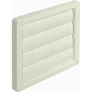 Gravity flap wall grille, system 6