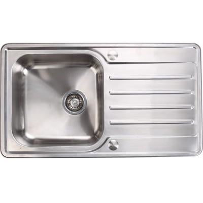 Häfele Abbey single bowl sink and drainer