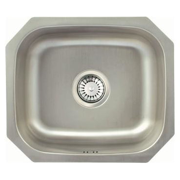 Häfele Calder undermount single bowl sink